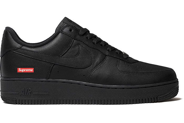 Supreme Nike Air Force 1 Low Black 2020 Release Date