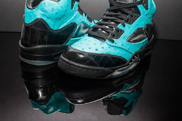 Custom Air Jordan 5 Tiffany Jbf Customs 3