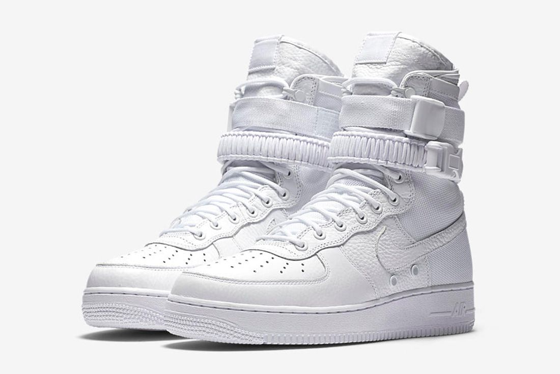 Nike Air Force 1 Sf White 5
