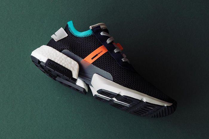 Adidas Pod S3 1 Core Black Solar Red 1