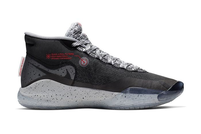 Nike Kd 12 Black Cement Release Date Medial