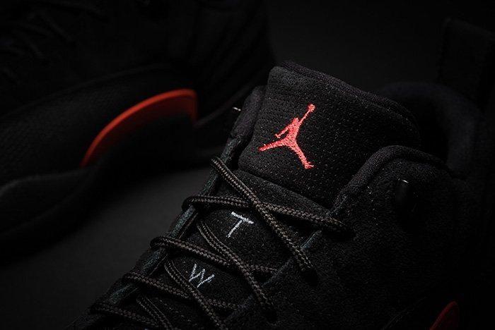 Air Jordan 12 Low Black Max Orange 3