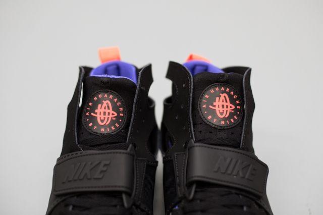 Nike Huarache Trainer Black Persian Violet 3