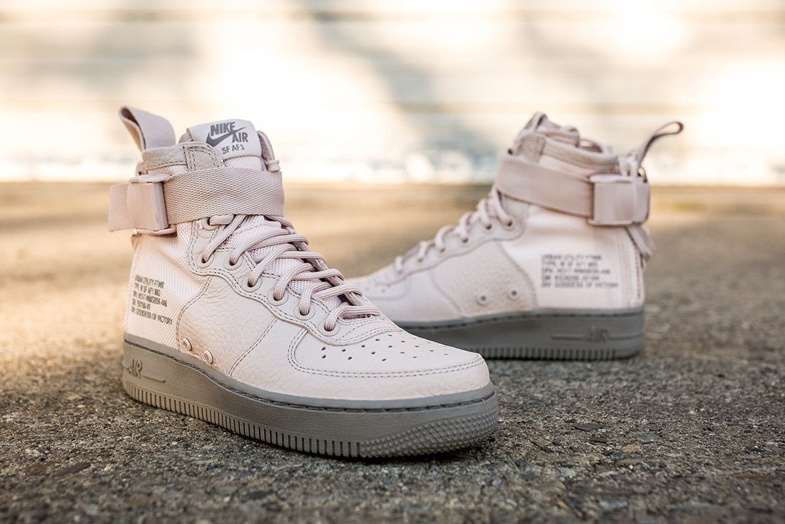 Nike Sf Air Force 1 Silt Red 7