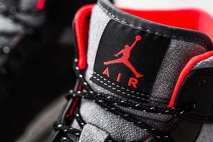 Air Jordan 1 Mid Black Cement2