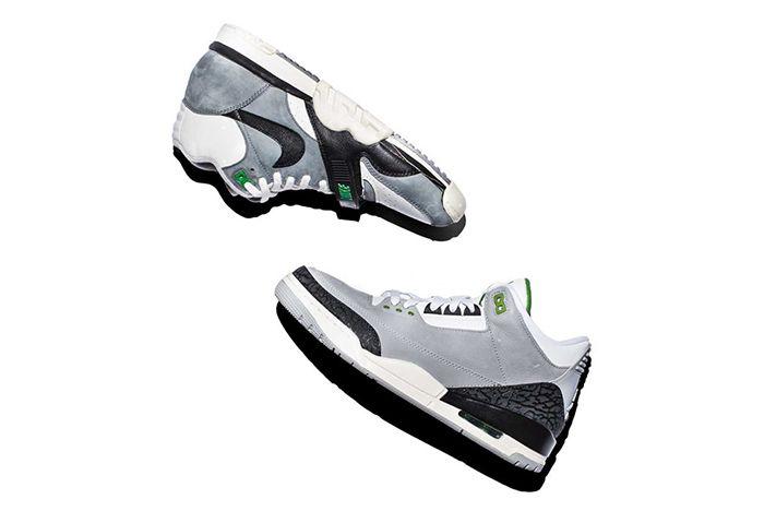 Air Jordan 3 Tinker Chlorophyll 1