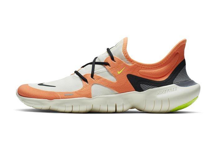 Nike Free Run 5 0 2019 Orange Lateral