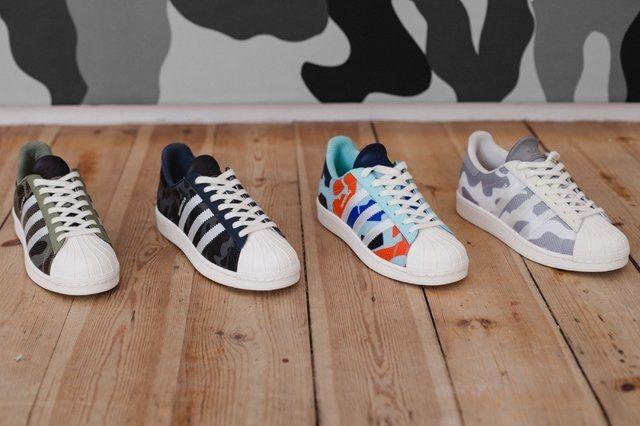 Adidas Originals Super Star Camo Pack Lookbook 14