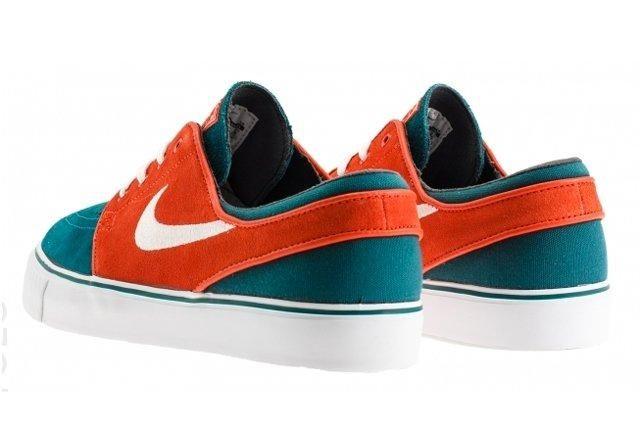 Nike Stefan Janoski Dark Sea Team Orange Rear