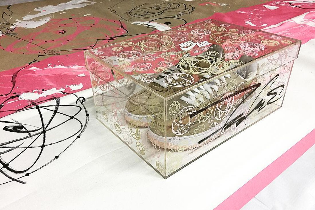 Nike Air Force 1 Linen To Return As Kith Exclusive In Colab With Futura4