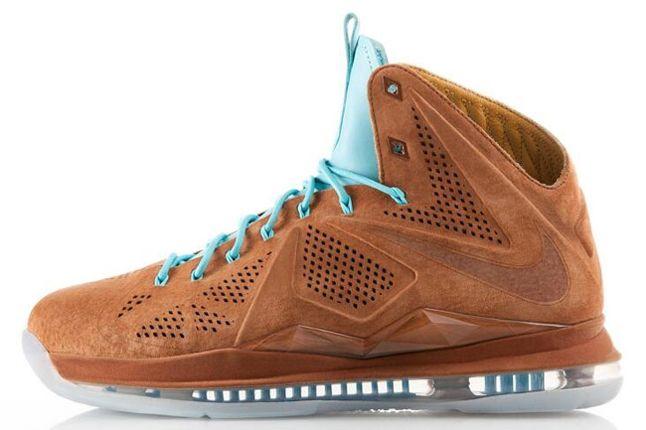 Nike Lebron X Hazelnut 1