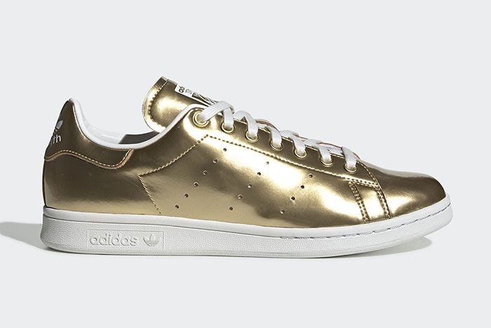 Adidas Stan Smith Metal Fv4298 Lateral