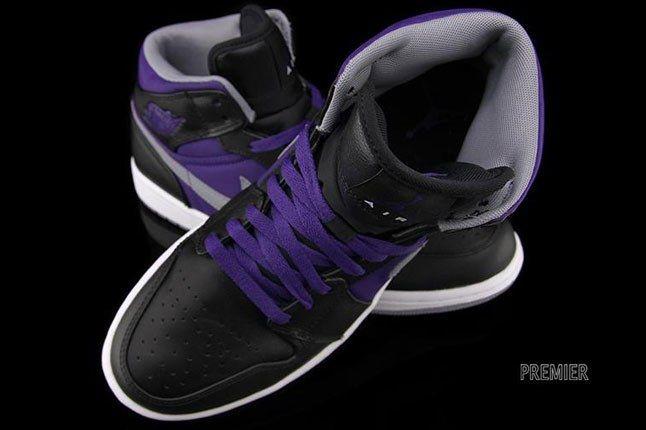 Air Jordan Purple Sneaker 1