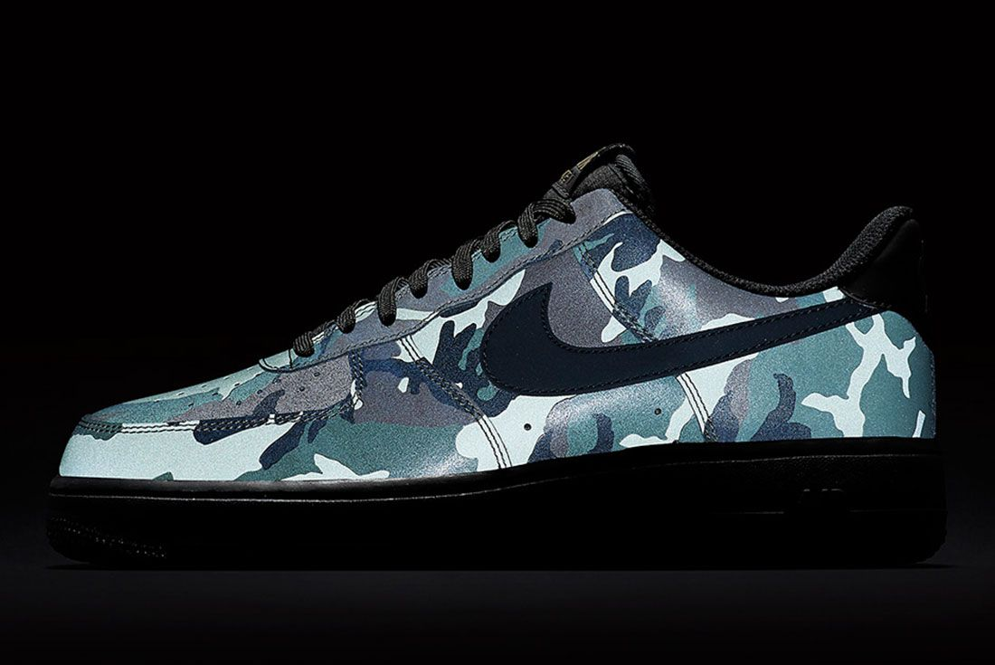 Nike Air Foce 1 Camo Reflective 7