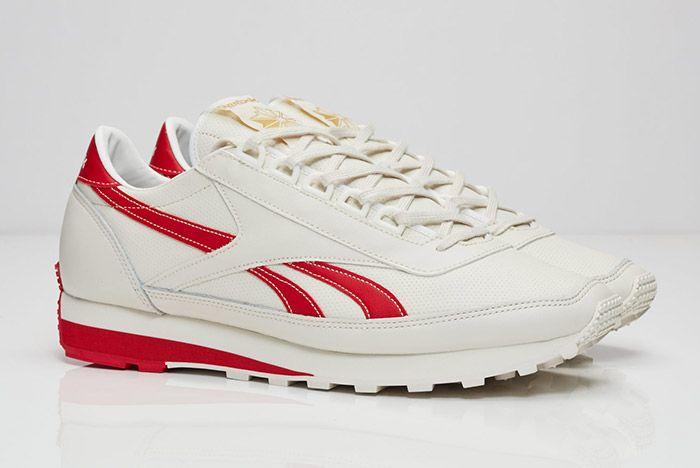 Reebok Aztec Leather White Red 2