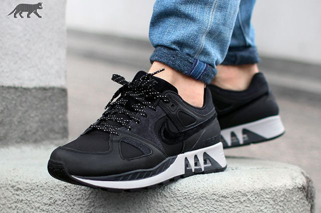Nike Air Stab Black White 4