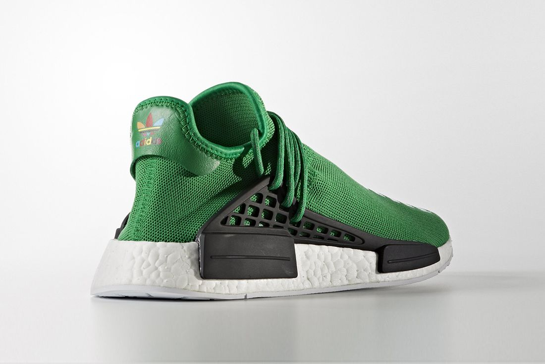 Pharrell Williams X Adidas Hu Nmd Green4