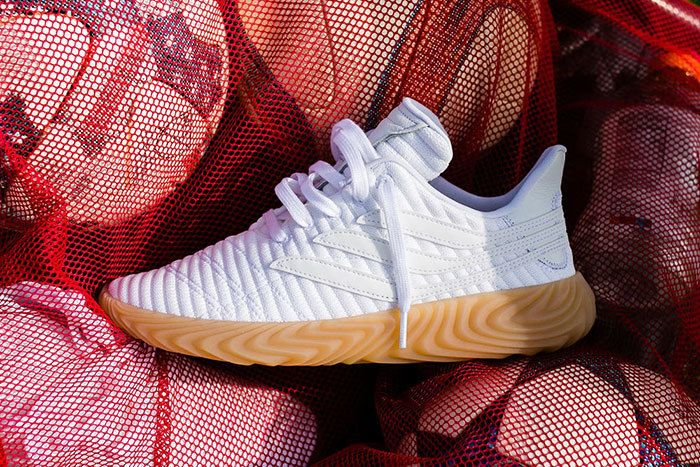 Adidas Sobakov White Gum 2