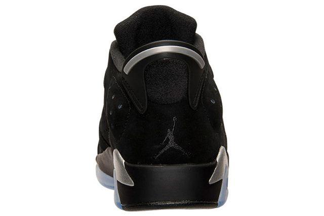 Air Jordan 6 Low Chrome 5