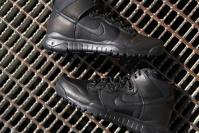 Nike Sb Dunk Hi Boot Black 2
