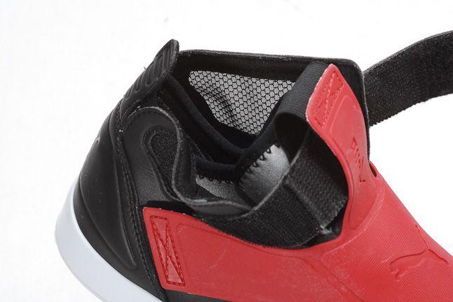 Puma Ely Future Black Red Details 1