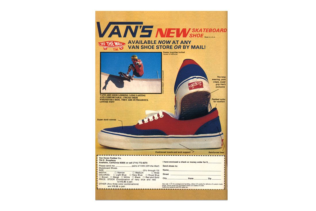 Vans 1978 Original Era Ad