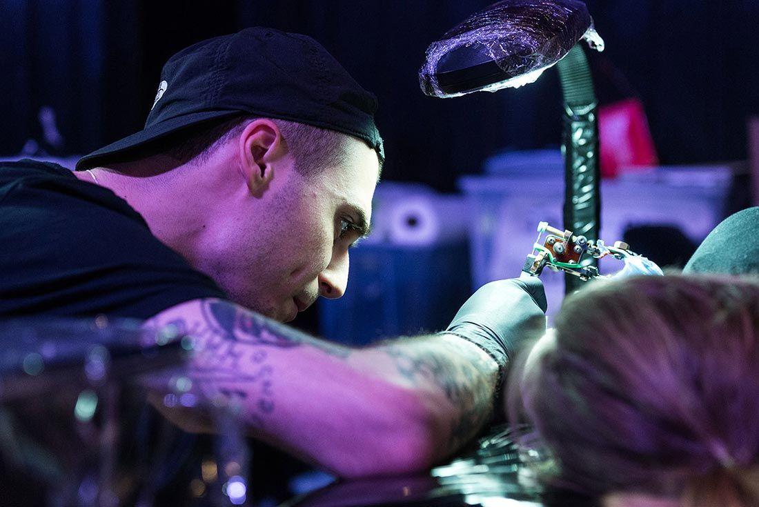 Sneakerness Even Recap Tattoo