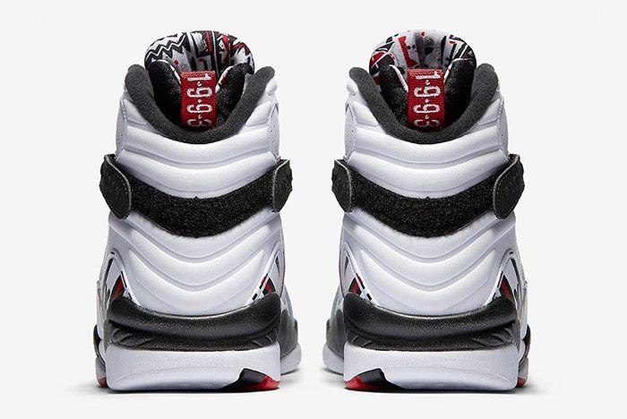 Air Jordan 8 Retro White Alternate 2
