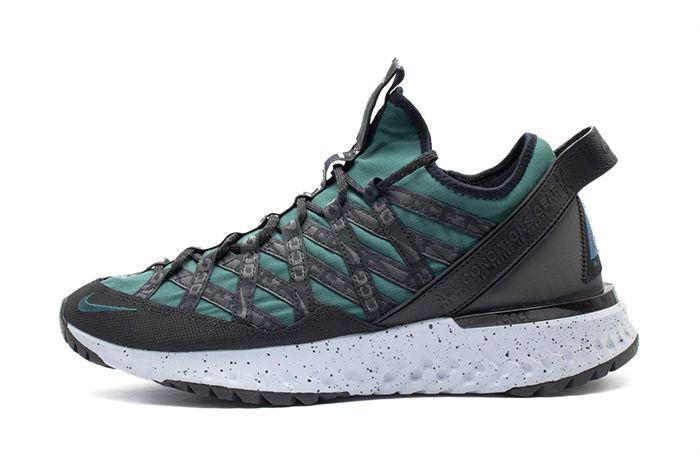 Nike Acg React Terra Gobe Deep Jungle Bv6344 300 Release Date Lateral
