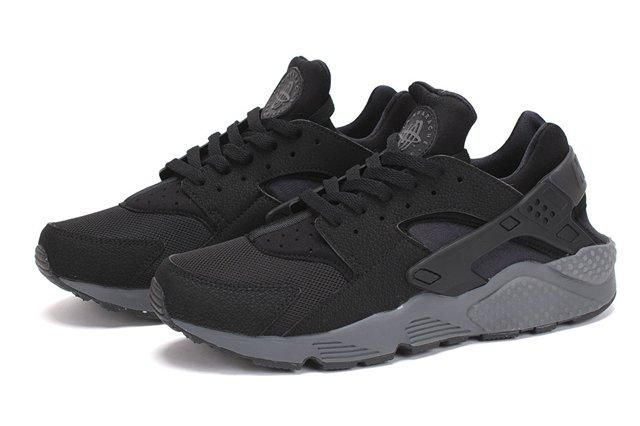 Nike Air Huarache Black Dark Grey 1