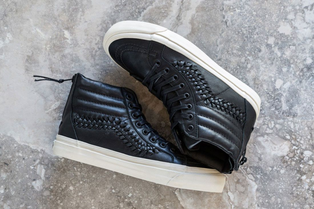 Vans Woven Leather Collection 10