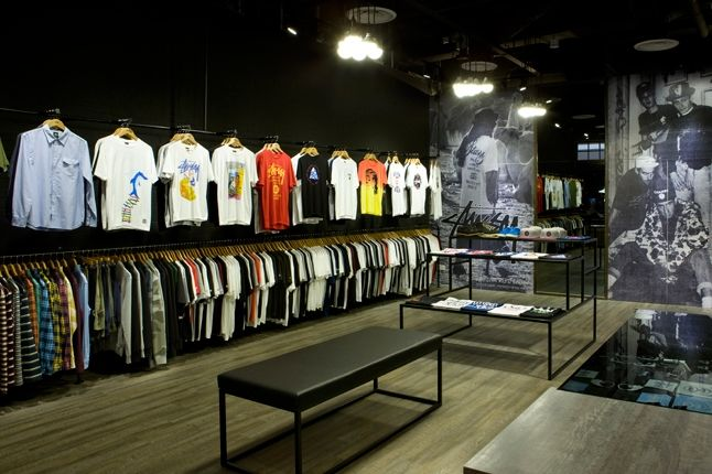Stussy Singapore Tribe Store Apparrel Wall 1
