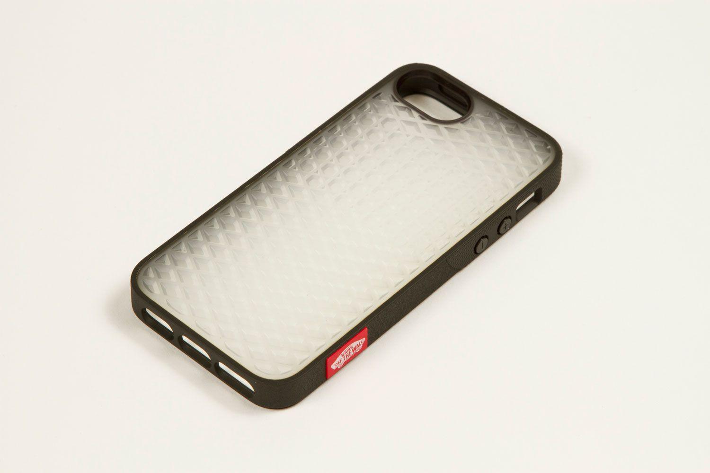 Vans X Belkin I Phone 5 Waffle Sole Case Black Clear Tint