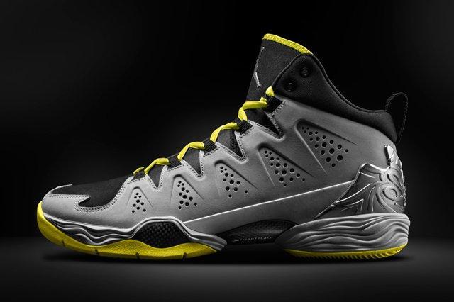 Air Jordan Melo 10 Yellow Black Profile