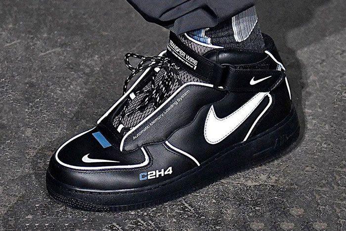 C2 H4 Nike Air Force 1 Mid London Fashion Week 1