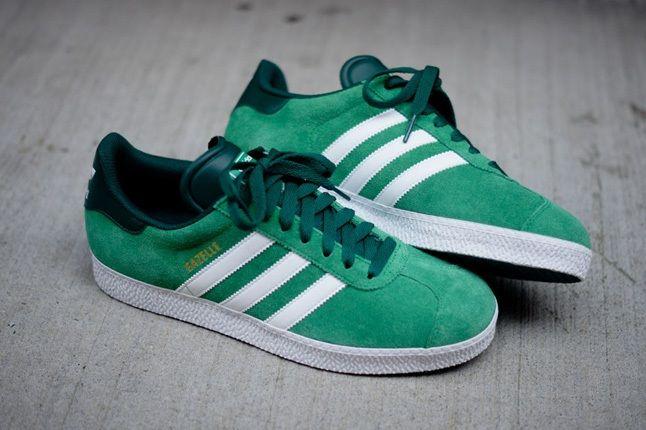 Adidas Gazelle Ii Green Hero 1
