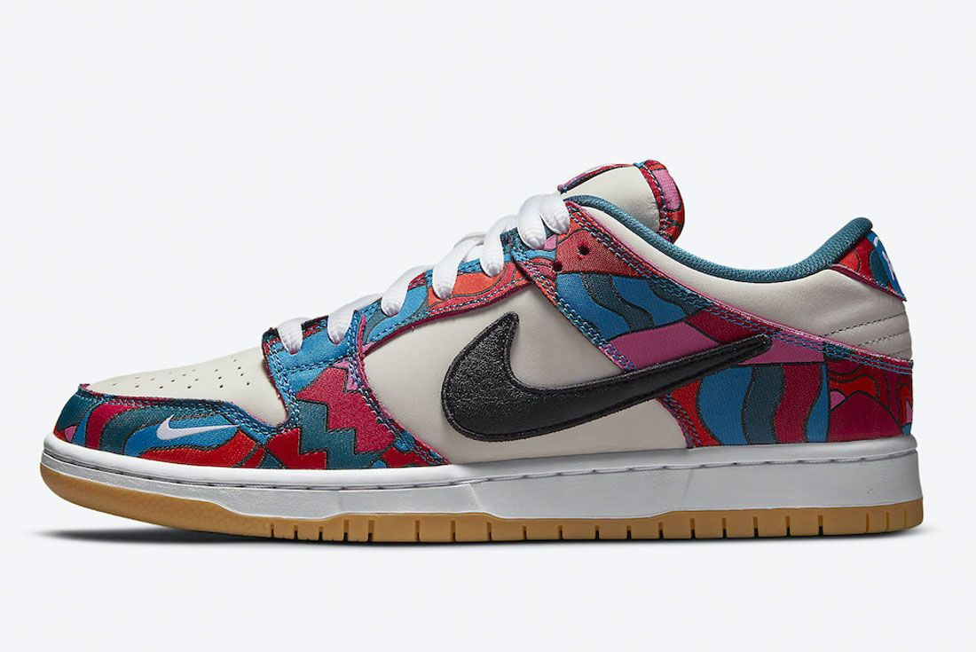 Parra Nike SB Dunk Low Abstract Art