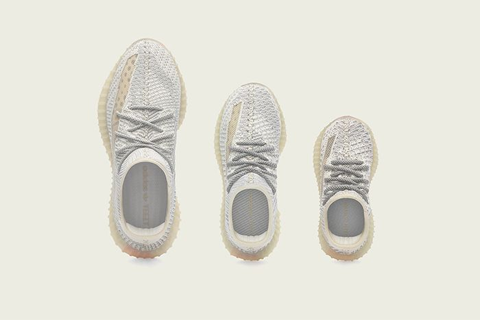 Adidas Yeezy Boost 350 V2 Lundmark Official Release Date Family Top Down