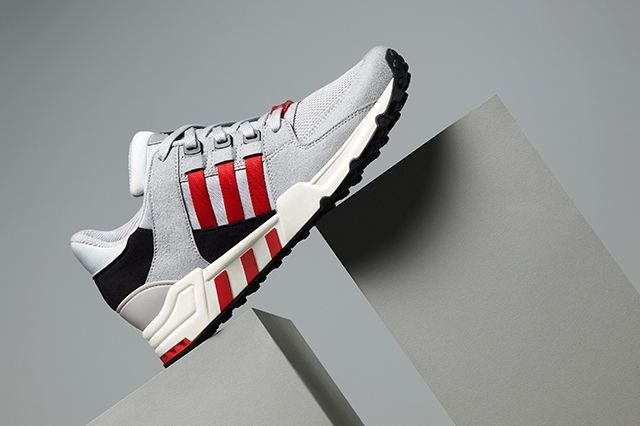 Adidas Eqt Running Support 93 Toro Red Ice Grey 1