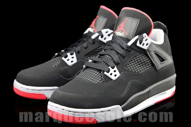 Air Jordan 4 Bred Gs 03 1