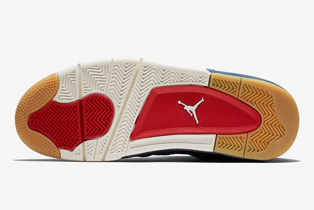 Levis Air Jordan 4 Denim Indigo 1