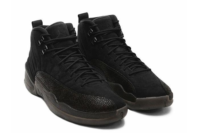 Drake X Air Jordan 12 Ovo Black Stingray2