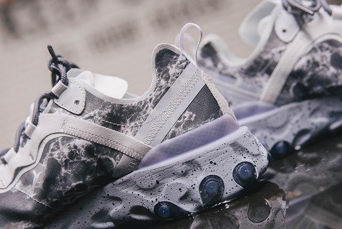 Nike Kendrick Lamar React Element Heel Detail