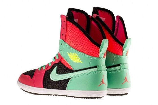 Air Jordan 1 Skinny High Atomic Red 1