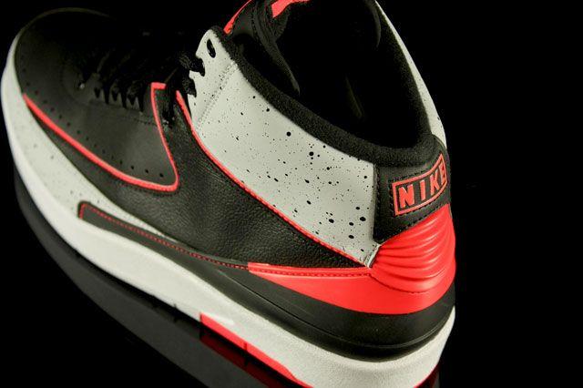 Jordan 2 Infrared Heel2