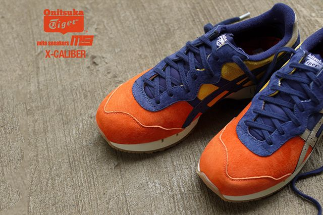 Mita Sneakers Onitsuka Tiger X Caliber Tequila Sunrise