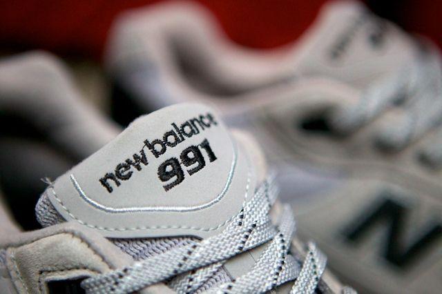 New Balance 991 Made In Usa Grey Black 2