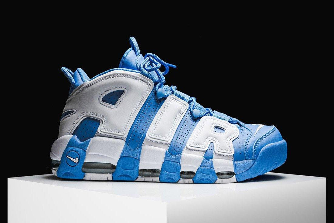 Nike Air More Uptempo University Blue 5