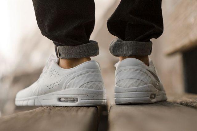 Nike Sb Eric Koston White Silver 3