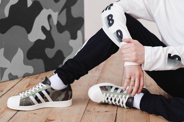 Adidas Originals Super Star Camo Pack Lookbook 00